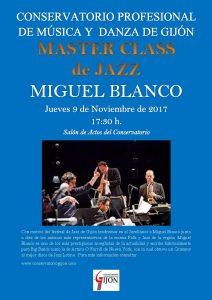 MASTER CLASS MIGUEL BLANCO.